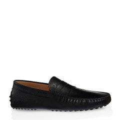 Tod's/托德斯 男士黑色牛皮豆豆鞋图片