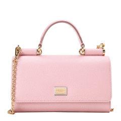 Dolce&Gabbana/杜嘉班纳钱包-女士浅粉色时尚皮票夹 材质:牛皮图片