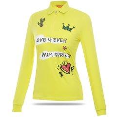 【特价】PALM SPRING / 棕榈泉 高尔夫女士服装 女士POLO衫 长袖T恤 STZL171215图片