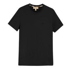BURBERRY/博柏利 男士纯棉圆领纯色logo时尚休闲短袖T恤图片