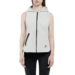 HOTSUIT/后秀 19年夏季 女款 运动 休闲马甲 外套 开衫 带帽外套图片