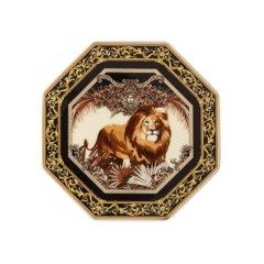 Rosenthal meets Versace范思哲新品 动物王国 10厘米彩绘装饰杯垫图片