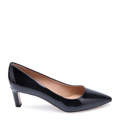 Salvatore Ferragamo/菲拉格慕牛漆皮材质尖头设计女士细跟高跟鞋图片