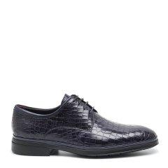 【专柜同款】S.T. DUPONT/都彭  牛皮日常系带压纹舒适男士商务正装鞋L18235921图片