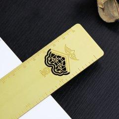Prin Kung's Mansion/恭王府X开物集签西洋门福庆有余铜尺书签图片