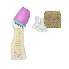 【包税】Betta/贝塔 宝宝钻石系列SY3线轴奶瓶-PPSU-120ml 0-1/1-3/3-6/6个月以上适用 日本原装 温柔呵护图片