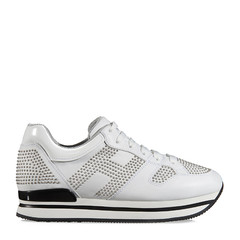 HOGAN/霍根女士白色女士运动鞋H222系列运动鞋图片