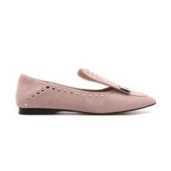 DK UGG/DK UGG  平跟鞋  Wynn 复古方头柳钉平底鞋图片
