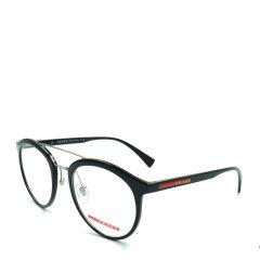 PRADA/普拉达 潮流炫酷双梁系列派对达人款时尚绅士光学眼镜(时尚大框)(适合亚洲男士脸型)(舒适鼻托)(意大利进口超轻板材)图片