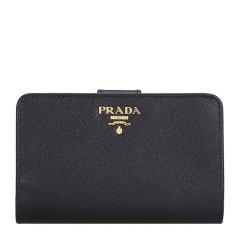 PRADA/普拉达 牛皮革 女士 短款钱夹 1ML225 清仓微瑕 介意者勿拍图片