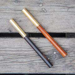 JIANGYI/匠艺 八方木笔 红木签字笔 原创设计木质礼品 创意生日礼品图片