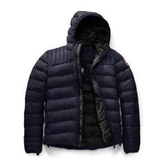 Canada Goose 加拿大鹅 男士黑色鸭绒时尚休闲短款羽绒服图片