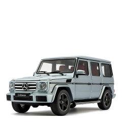 原厂1:18 奔驰G500合金车模 G-Class吉普越野合金模型SUV收藏摆件可定制车牌图片