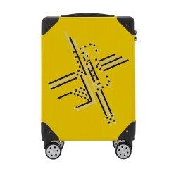ELLE/ELLE浮雕系列 中性款式 PC/ABS拉杆箱行李箱ELCL5525(20/24寸)图片