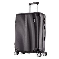 ROCKLAND/洛克兰 CF236系列 黑色红色蓝色银色玫瑰金深灰双色 中性款式竖条纹行李箱拉杆箱 万向轮 海关锁 其他ABS 20寸图片