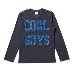 DIESEL KIDS 迪赛 男童长袖T恤 儿童T恤 1174T003图片