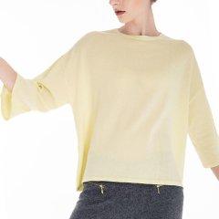 Zynni Cashmere/臻尼羊绒 【定制】夏季超薄纯绒七分袖羊绒衫 女装定制图片