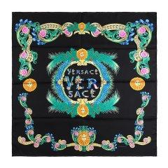 VERSACE/范思哲白色中性款丝巾图片