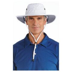 Coolibar 多国防晒机构认证 轻巧超透气吸汗宽檐可塑形男士 遮阳帽 UPF50+图片