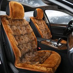 纳图 新款汽车奢华狐狸毛冬季毛绒坐垫  汽车狐狸毛毛坐垫 汽车座垫图片
