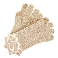 COACH/蔻驰 女士C字兔毛羊绒混合手套 F86026图片
