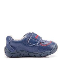 Eurobimbi/欧洲宝贝时尚包头粘袢羊皮鞋适合18个月至3岁儿童EB1503P097图片