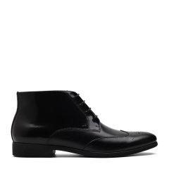 【奢品节可用券】S.T. DUPONT/都彭 牛皮布洛克正装男士短靴G20244004图片