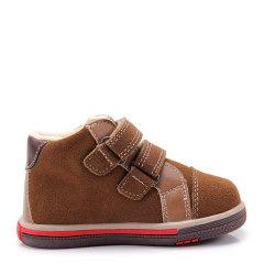 Eurobimbi/欧洲宝贝粘袢中邦反绒磨砂牛皮鞋适合18个月至3岁儿童EB1503P103图片