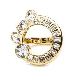 【Designer Jewelry】Galtiscopio/迦堤 戒指女祖利金色银色 首饰欧美简约潮流指环1604206图片