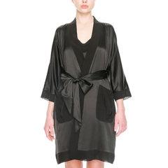DARE ONE/DARE ONE,分类:女睡衣/家居服D-light轻奢明星同款进口真丝睡衣家居服经典中长款睡袍图片
