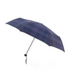 MARJA KURKI/玛丽亚古琦 19新款 英伦格纹雨伞 商务男士折叠伞 便携遮阳防风防晒 280克 带礼盒 9FF2323图片