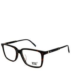 【19年新品】MontBlanc/万宝龙 锐意进取六芒星标系列商务精英款商务行政版绅士光学眼镜MB741-D(适合亚洲人士脸型)(舒适鼻托)(意大利进口轻盈材质)图片