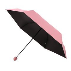 MISS RAIN/MISS RAIN 新品幸运猪防晒五折太阳伞创意黑胶遮阳伞图片