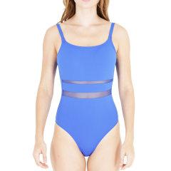 JOB/JOB 19新品女士吊带蕾丝镂空露背连体泳衣泳装女士泳衣图片