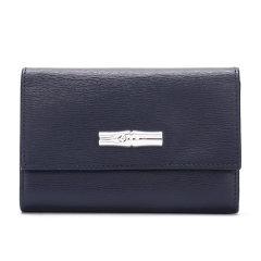 Longchamp/珑骧2019新品女士Roseau系列牛皮短款钱包钱夹3253871图片