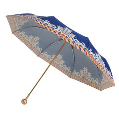 MISS RAIN/MISS RAIN 2019年 MISSRAIN X 宫里的世界三折伞 海水江崖、鸟语花香 跨界合作款 新疆西藏等偏远地区物流停发图片