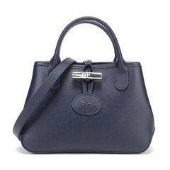 Longchamp/珑骧女士ROSEAU系列牛皮手提单肩斜挎包1016871图片