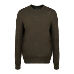 Emporio Armani/安普里奥阿玛尼男针织衫/毛衣-圆领套头针织衫-男士针织衫/毛衣图片