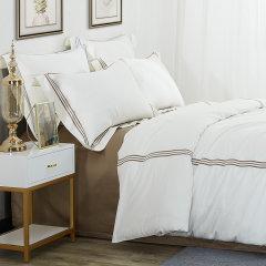 Downia 床上用品 床品套件60支长绒棉贡缎床品四件套-佩兹利图片