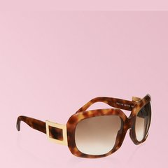 Roger Vivier/罗杰·维维亚 女士棕色烟灰色镜片太阳眼镜图片