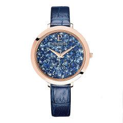 【明星同款】Pierre Lannier/连尼亚 法国原装进口星钻系列皮质表带女士石英手表图片