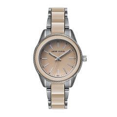Anne Klein/安妮·克莱因AK手表简约经典系列合金表带 大气简洁 硬朗干练 石英女士腕表图片