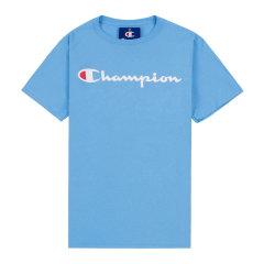 Champion冠军  经典印花男士女士休闲圆领草写logo 印花 短袖 男士 运动 T恤 GT23H Y06794图片
