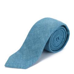 【19春夏】BURBERRY/博柏利  蓝色男士领带