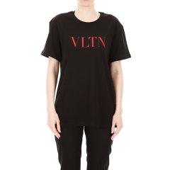 华伦天奴/Valentino 19年秋冬 VLTN 女性 LOGO 宽松 女士短袖T恤 SB3MG07D3V6A01图片