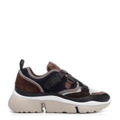 CHLOE/克洛伊 18年秋冬 女性 时尚 复古 浅灰色 女士休闲运动鞋 CHC18A05118图片