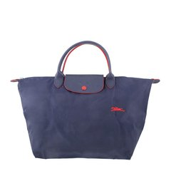 Longchamp/珑骧 LE PLIAGE系列 女士尼龙logo中号短柄手提包挎包拉链包饺子包可折叠女包 多色可选图片