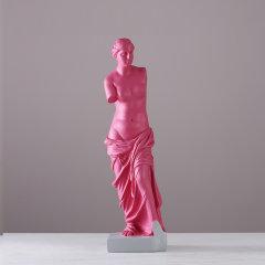 GELEISTORY欧式古罗马维纳斯断臂女神雕塑树脂摆件 家居软装样板房软装饰品图片