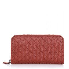 Bottega Veneta/葆蝶家 女士羊皮长款钱夹钱包图片