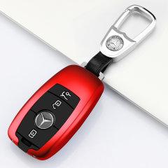 pinganzhe   汽车新款 奔驰E级专用 铝合金硅胶钥匙保护套 汽车钥匙包 钥匙壳图片